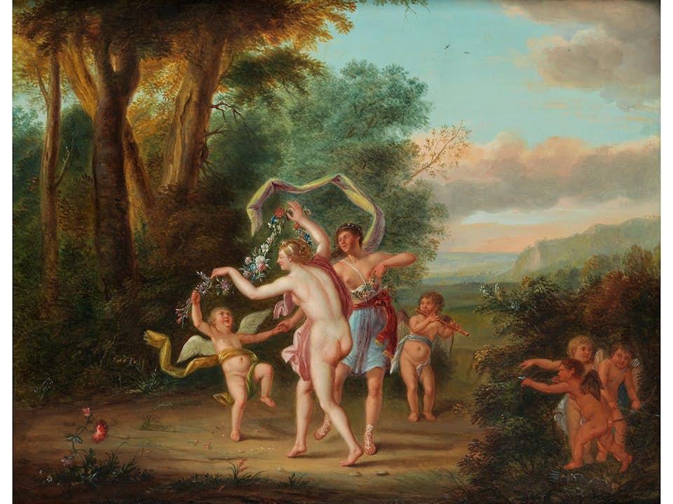 Jacob Andries Beschey, 1710 Antwerpen - 1786 ebenda
