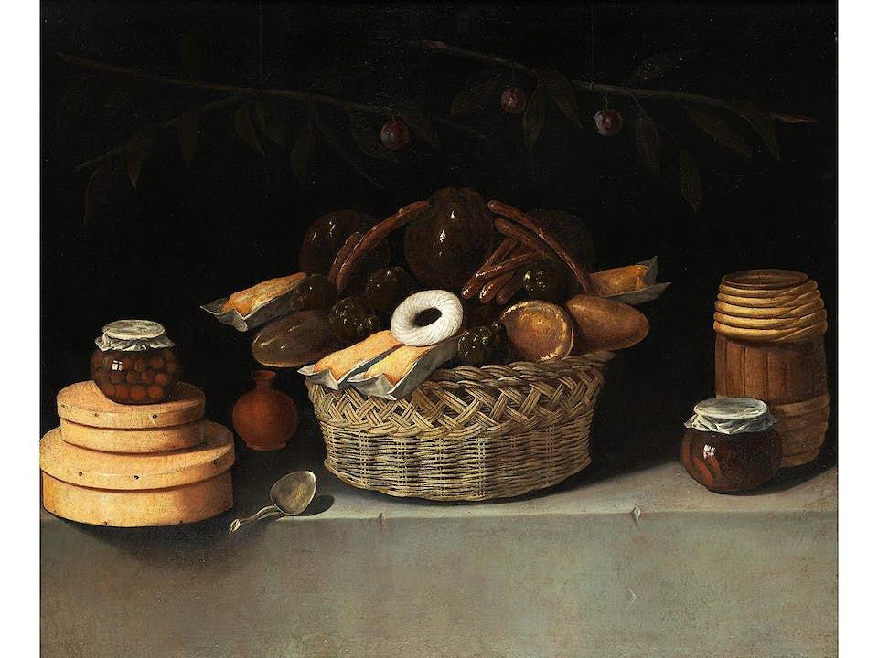 Juan van der Hamen y León, 1596 Madrid – 1631 ebenda, und Werkstatt