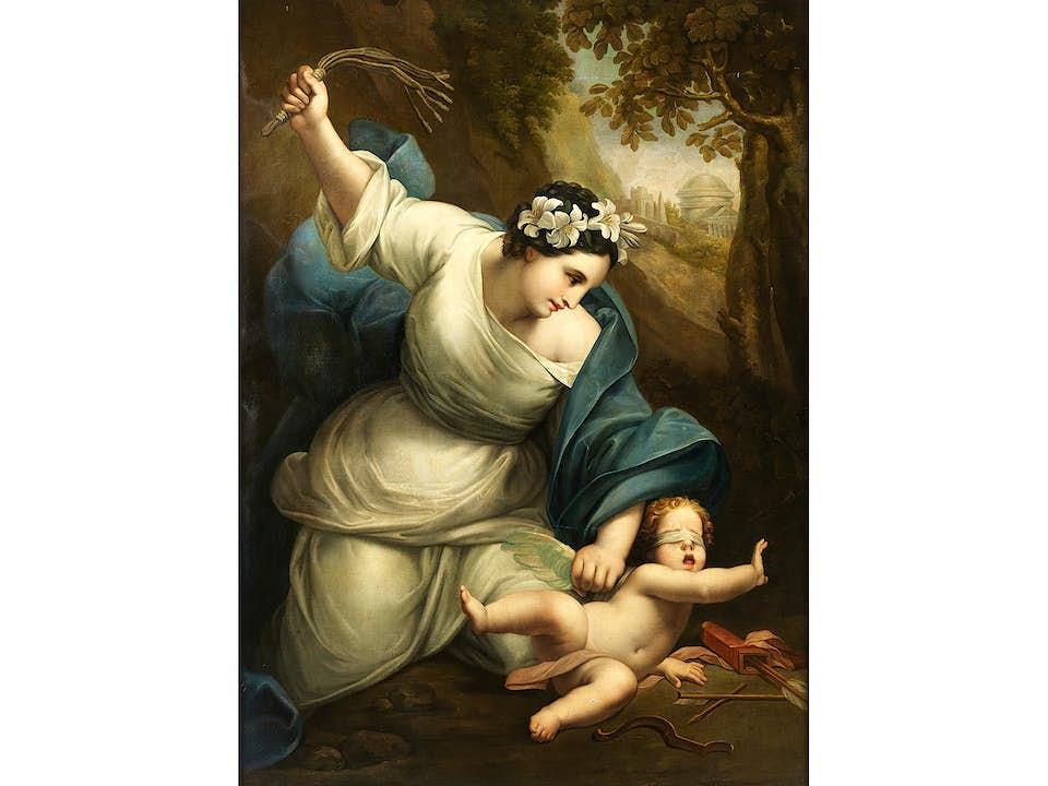 Französischer Maler des Neoklassizismus