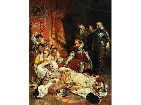 Maler der ersten Hälfte des 19. Jahrhundert, Kopie nach Paul Delaroche (1797 – 1856)