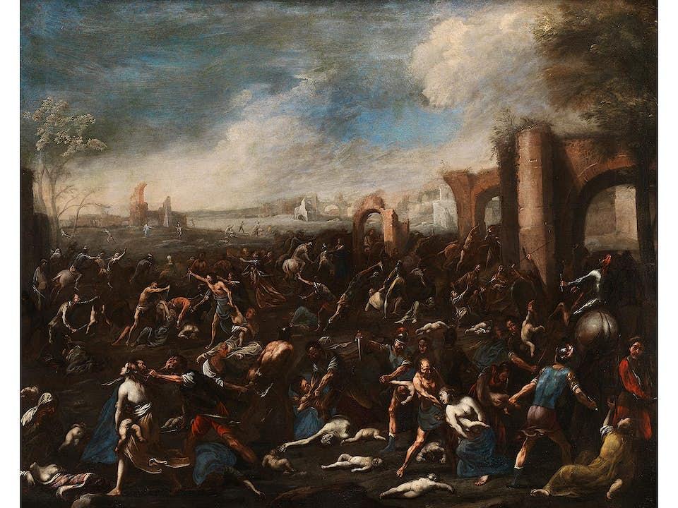 Scipione Compagno, um 1624 Neapel - um 1680, zug.