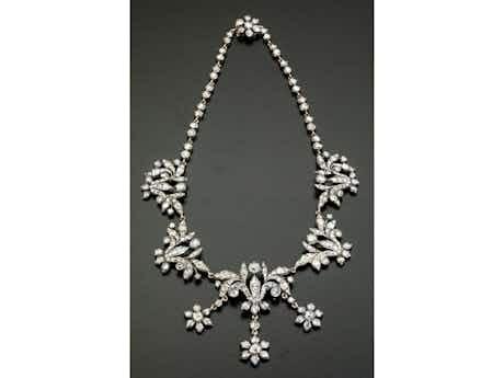 Antikes Diamantcollier