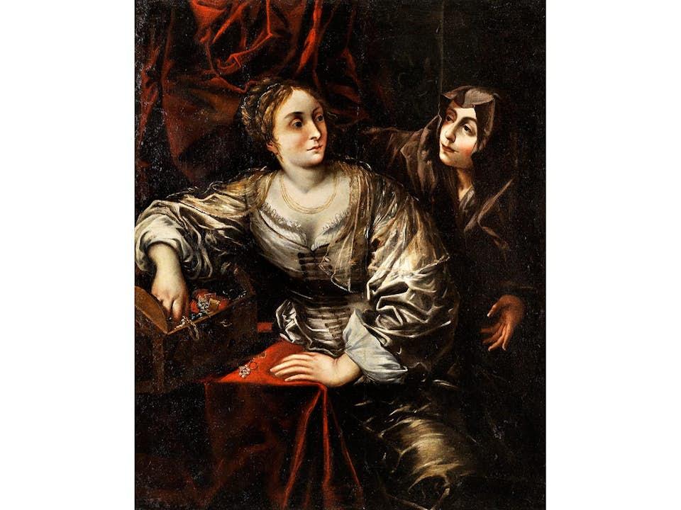 Francesco del Cairo, 1607 Mailand – 1665, zug.
