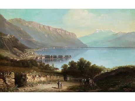 """Gottfried Stahly, auch """"Gottfried Stähly-Rychen"""", um 1840 Oberhofen – 1920 Thum"""