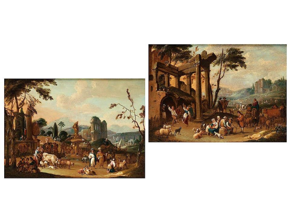 Pieter van Bredael, 1629 Antwerpen - 1719, zug.