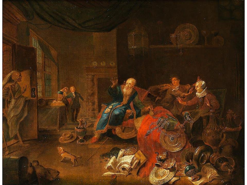 Balthazar van den Bossche, 1681 - 1715, zug.