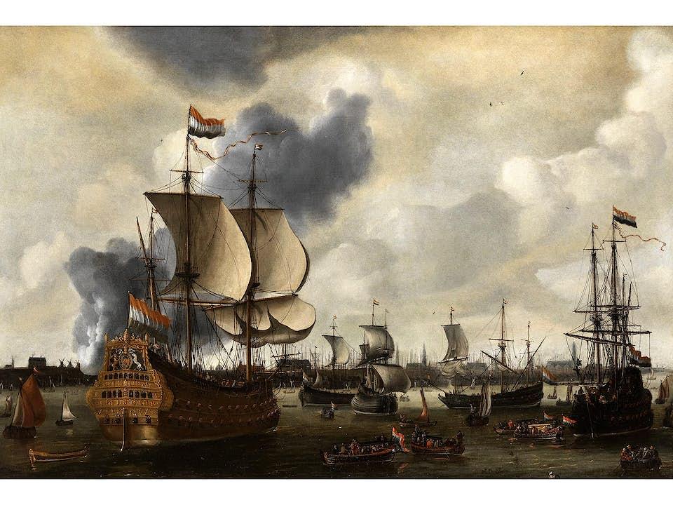 Cornelis van de Velde, um 1675 - um 1729, zug.
