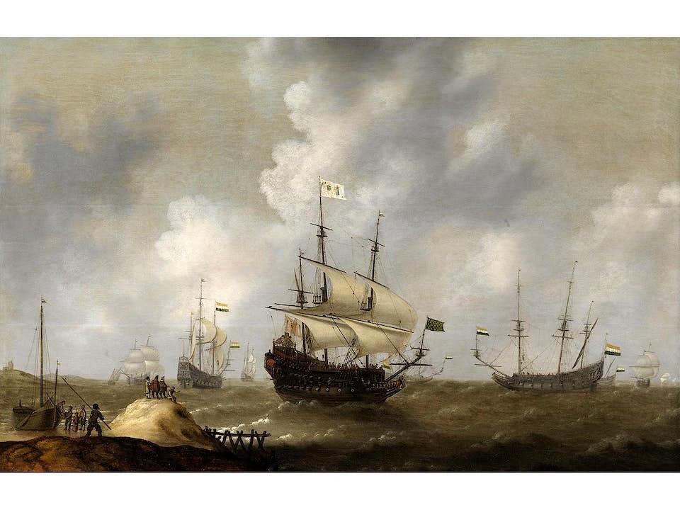 Hendrik van Anthonissen, um 1606 Amsterdam - 1654/60 ebenda, zug.