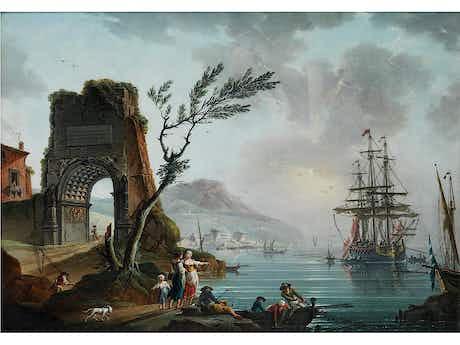 """Charles-François Grenier de la Croix, genannt """"Lacroix de Marseille"""", 1700 Marseille - 1779 Berlin"""
