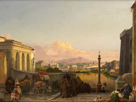 Friedrich Nerly d. Ä., 1807 Erfurt - 1878 Venedig