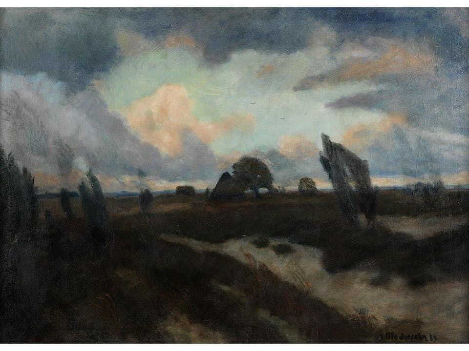Otto Modersohn, 1865 Soest - 1943 Rotenburg