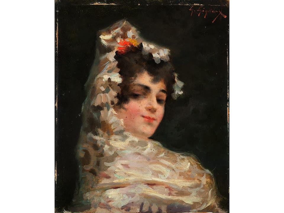 Französisch-spanischer Maler des 19. Jahrhunderts