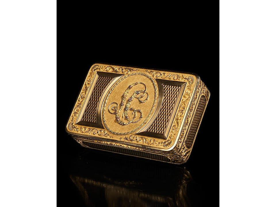 Österreichische Golddose
