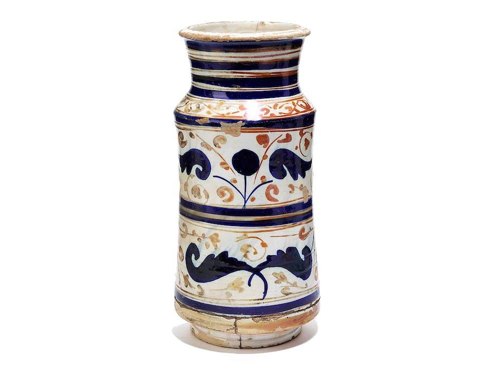 Albarello mit Lüsterdekor