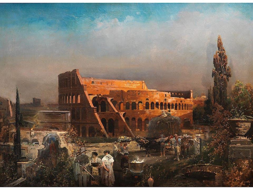 Robert Alott, 1850 Graz - 1910 Wien