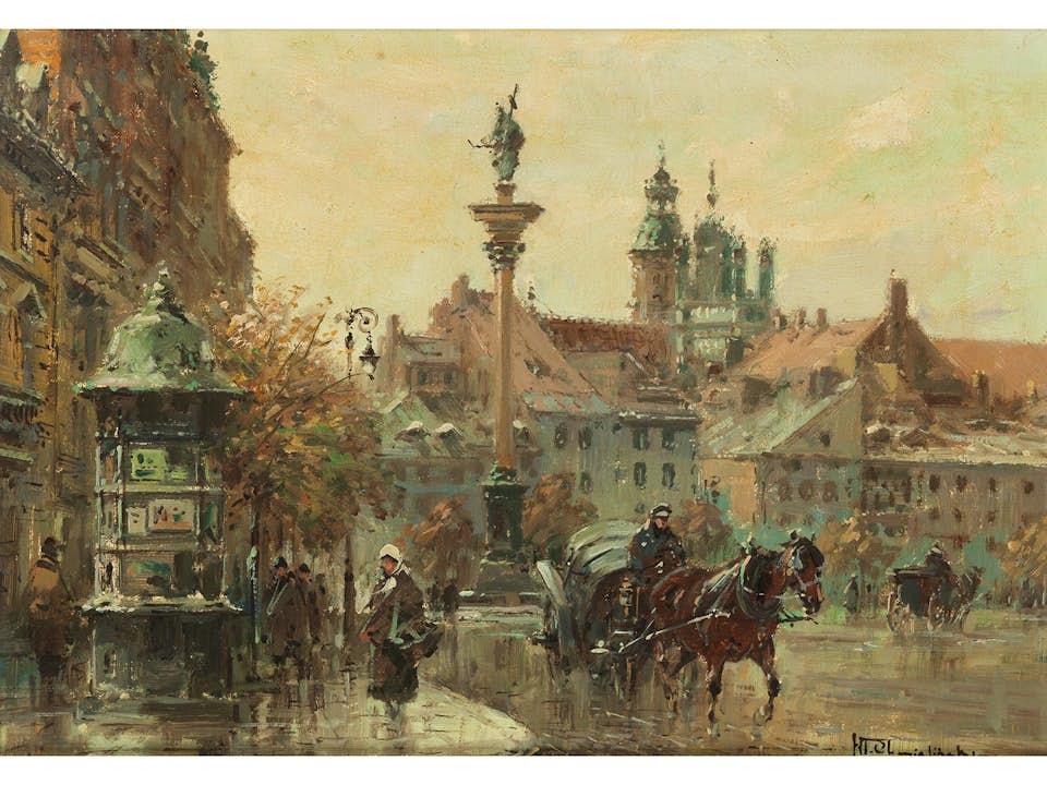 Wladyslaw Chmielinski, 1911 Warschau – 1979 ebenda
