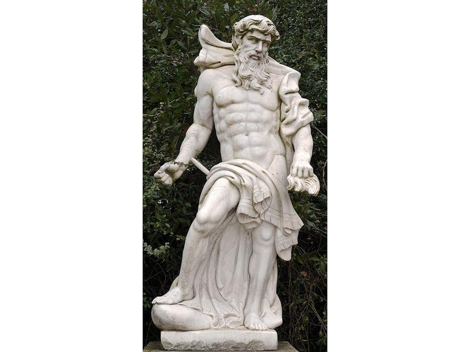 Skulptur des Zeus