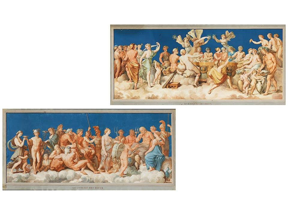 Michelangelo Maestri, tätig um 1802 - um 1812, zug.