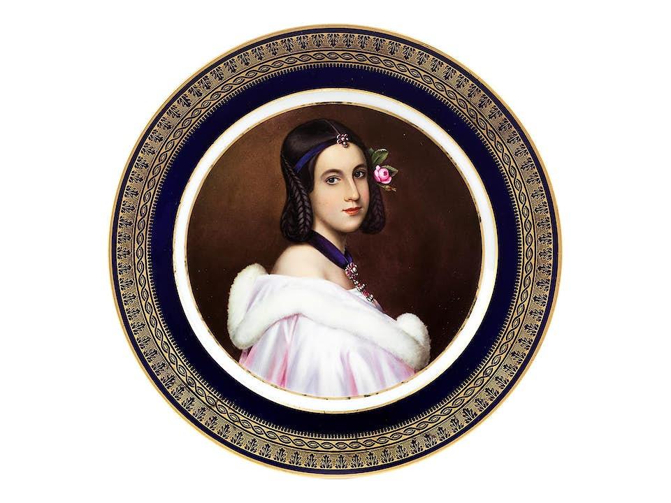 Portraitteller Lady Jane Eskine
