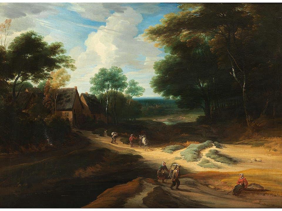 Lodewyck de Vadder, 1605 Grimbergen – 1655 Brüssel, zug.