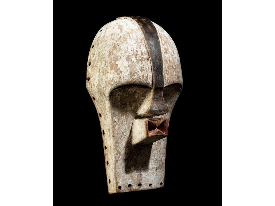 Weibliche Kifwebe-Maske