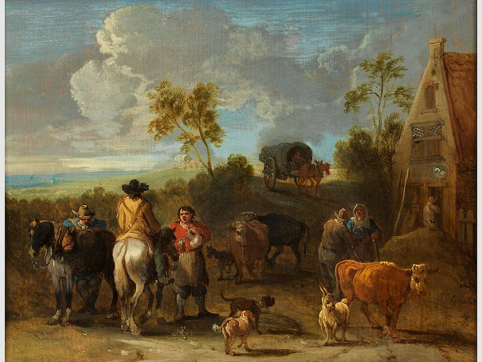 Théobald Michau, 1676 Tournae – 1765 Antwerpen