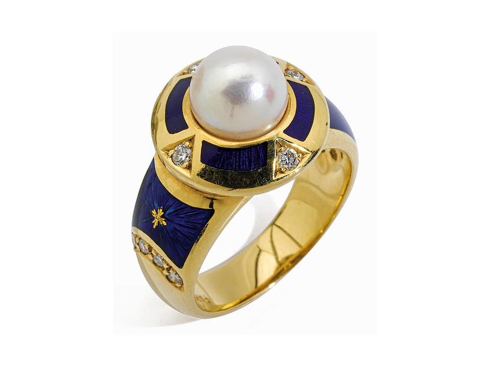 Fabergé-Ring von Victor Mayer