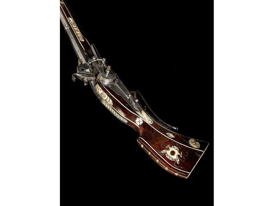 Museales Radschlossgewehr