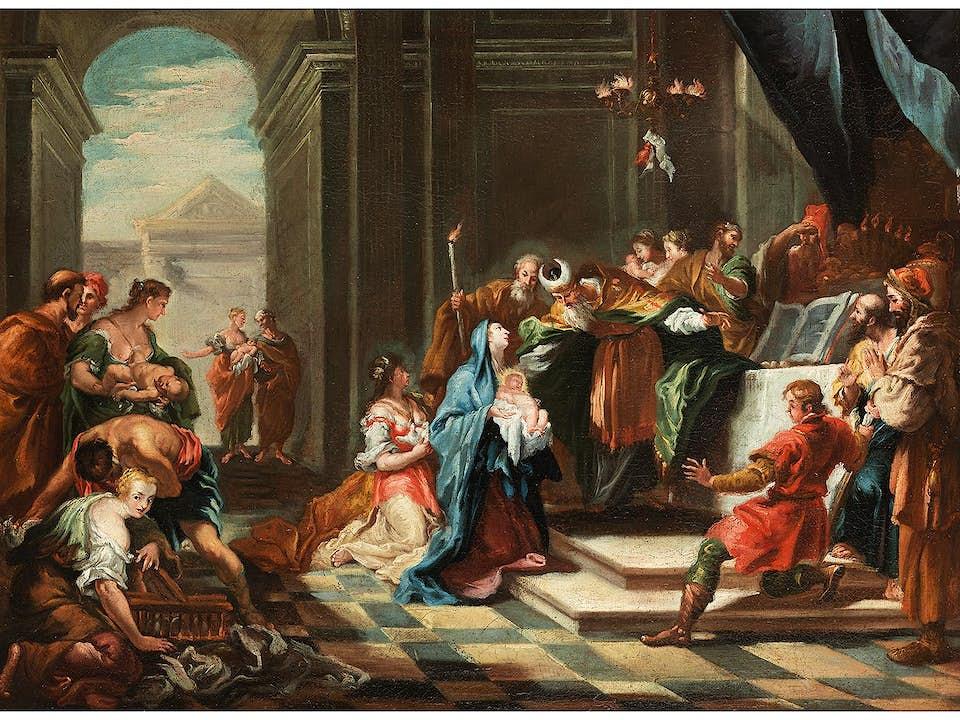 Venezianische Schule des 18. Jahrhunderts, Umkreis des Sebastiano Ricci (1659 - 1734)