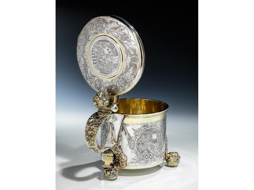 Großer Moskauer Silberhumpen