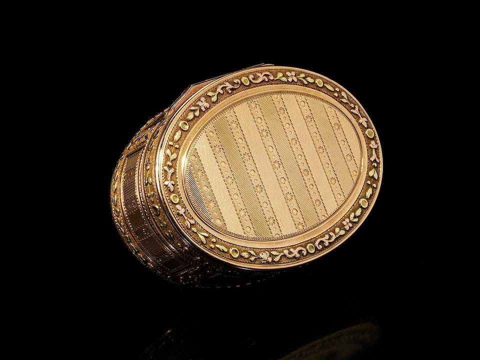 Louis XVI-Golddose