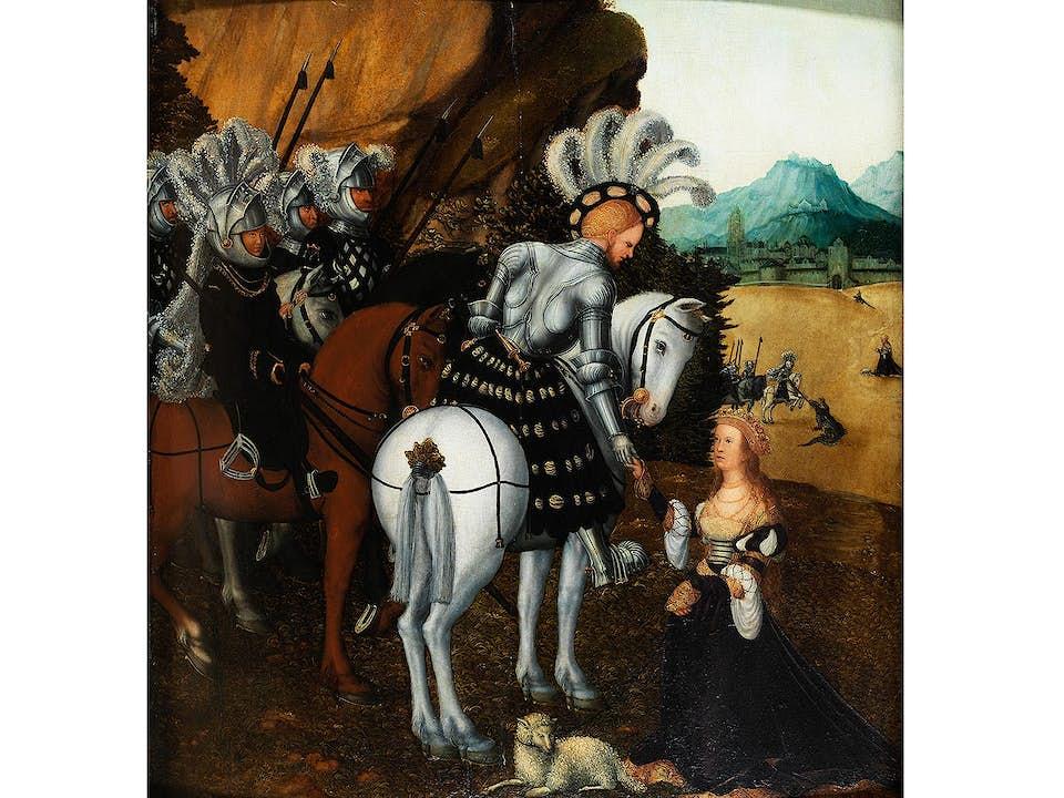 Lucas Cranach d. Ä., 1472 Kronach - 1553 Weimar, Werkstatt des