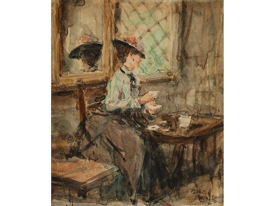 Isaac Lazarus Israëls, 1865 Amsterdam – 1934 Den Haag, zug.