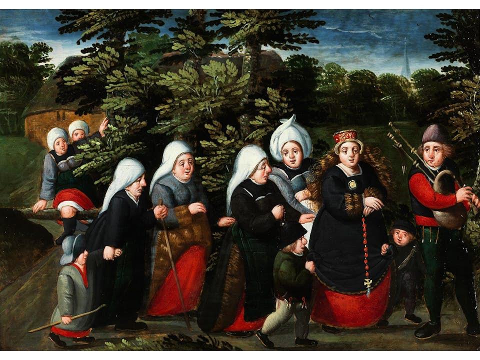 Marten van Cleve, 1527 Antwerpen – 1581 ebenda
