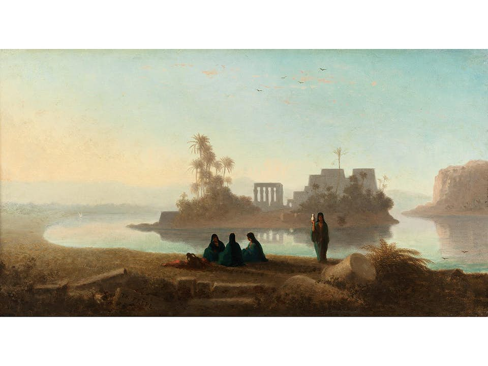 Charles Théodore Frère, 1814 Paris – 1888 ebenda