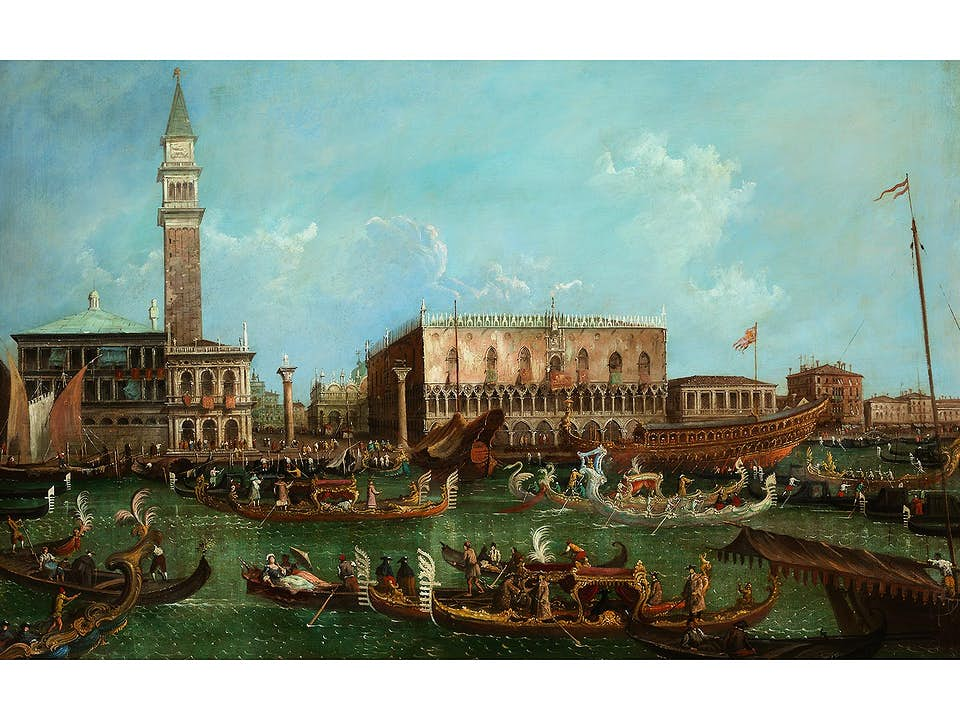 Francesco Zanin, um 1824 – 1884 Venedig, zug.