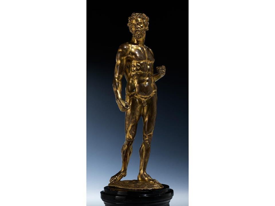 Bedeutende Herkules-Statuette