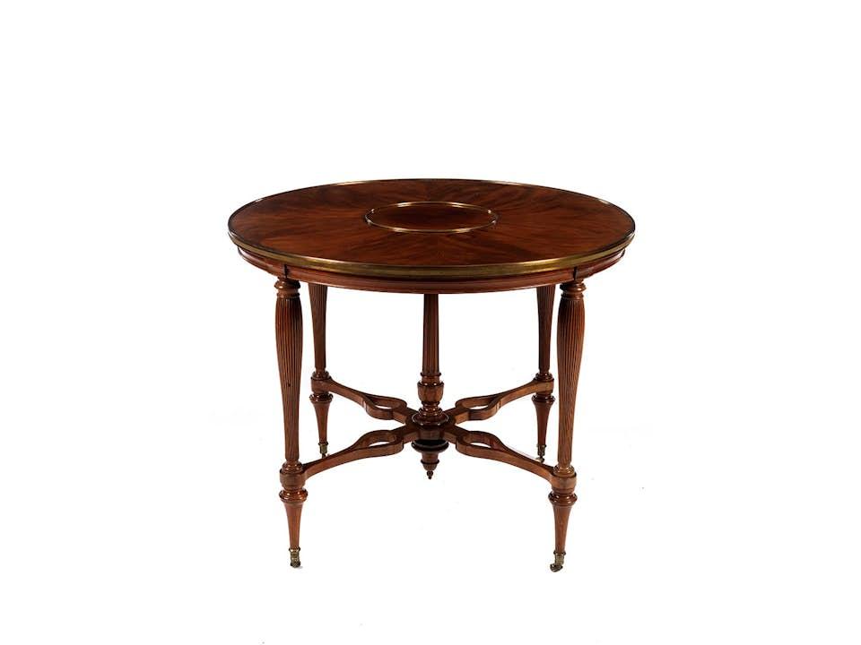 Louis XVI-Table à déjeuner von Adam Weisweiler (1744 - 1820, Meister ab 1778)
