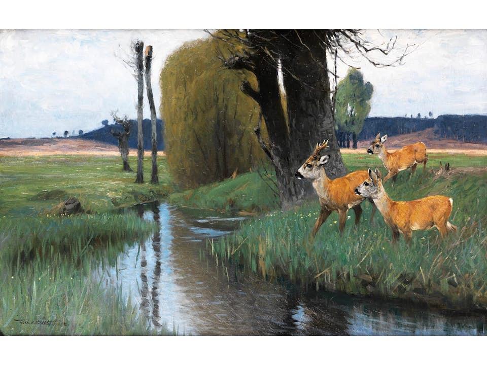Wilhelm Kuhnert, 1865 Oppeln – 1926 Flims